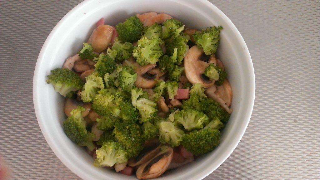 Schotel van aardappel en broccoli 2