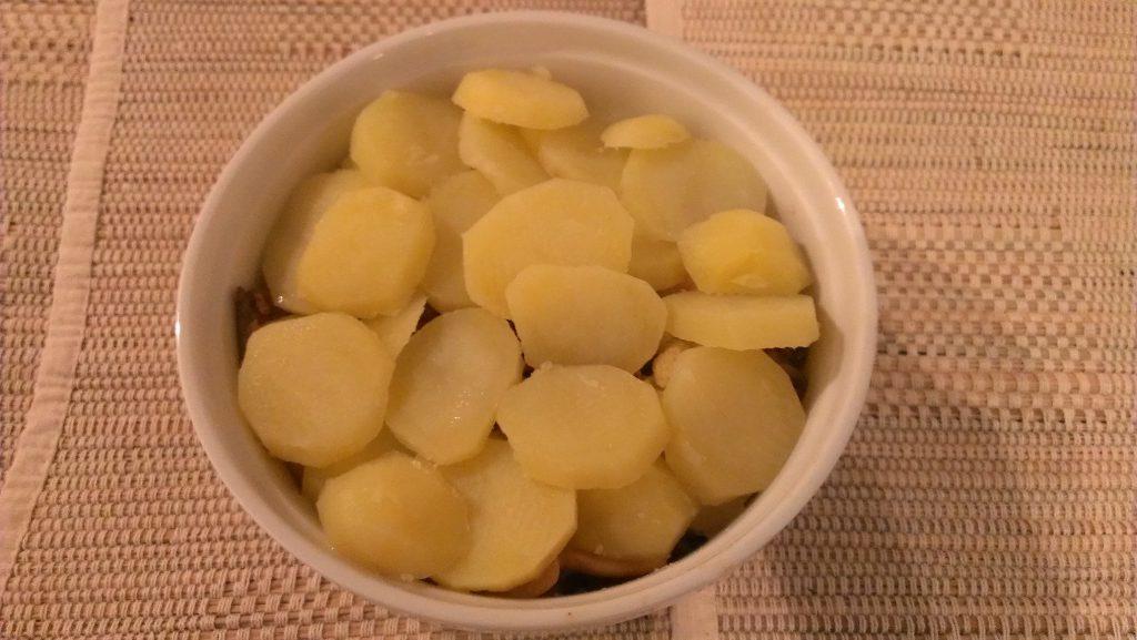 Gehakt met bloemkool en roomsaus uit de oven 02