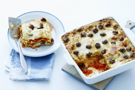 Italiaans-Amerikaanse lasagne